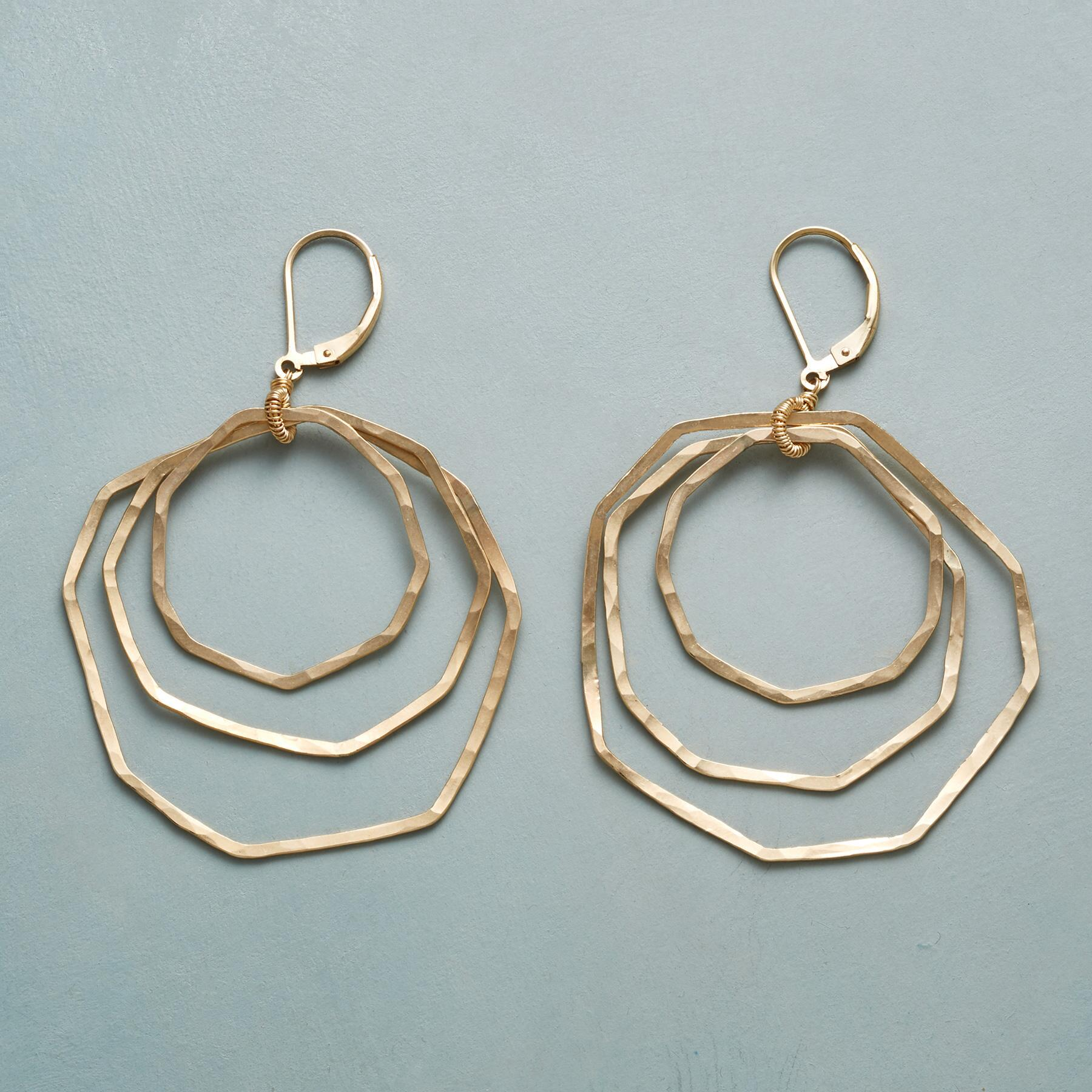 ALL OCTAGON EARRINGS: View 1