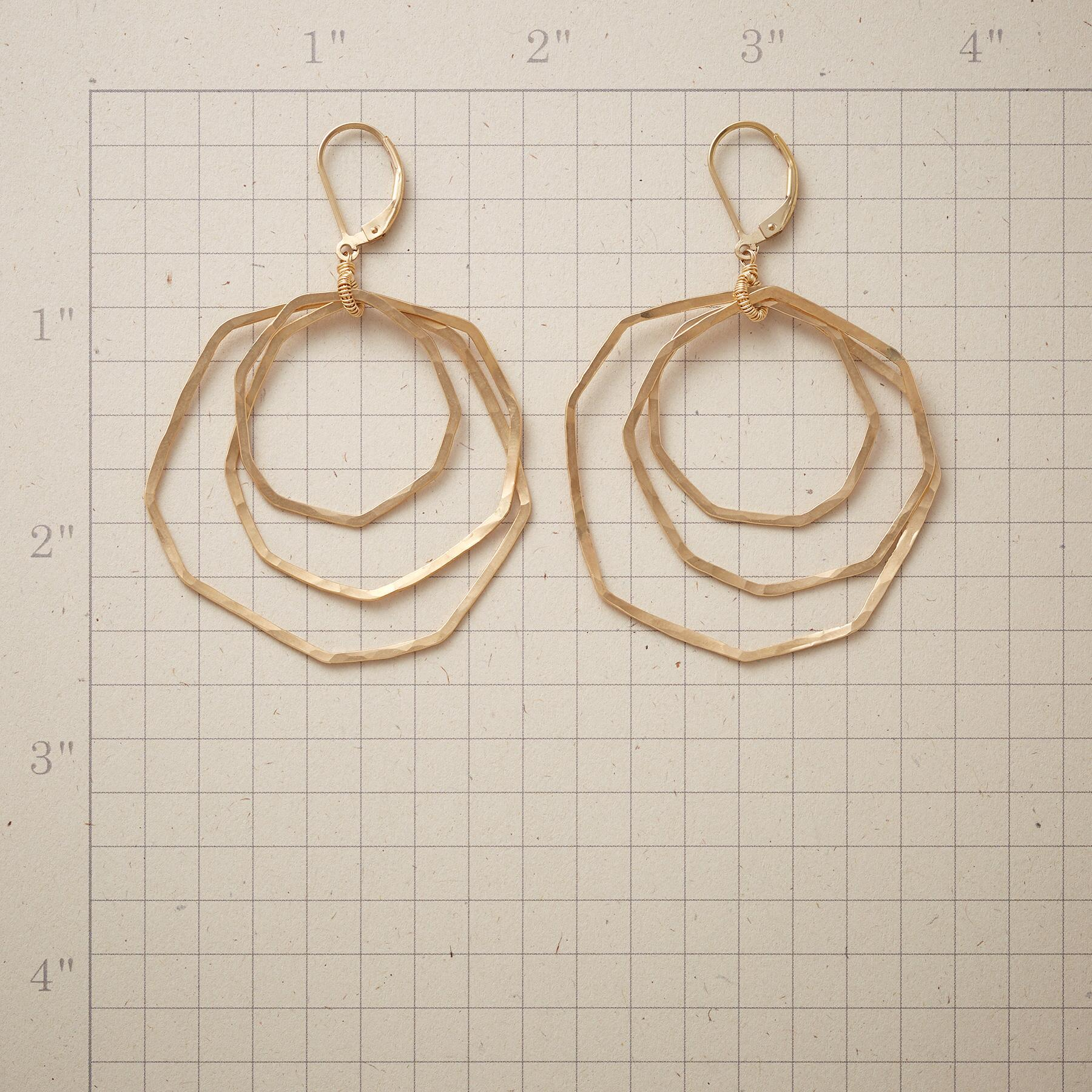 ALL OCTAGON EARRINGS: View 2