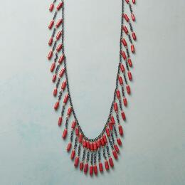 CORAL ARRAY NECKLACE