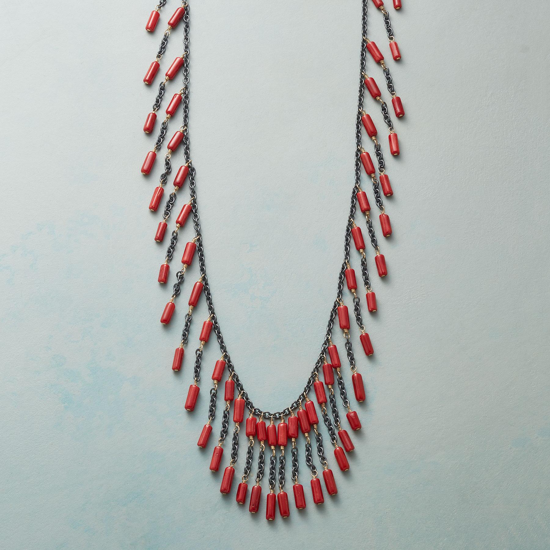 CORAL ARRAY NECKLACE: View 1