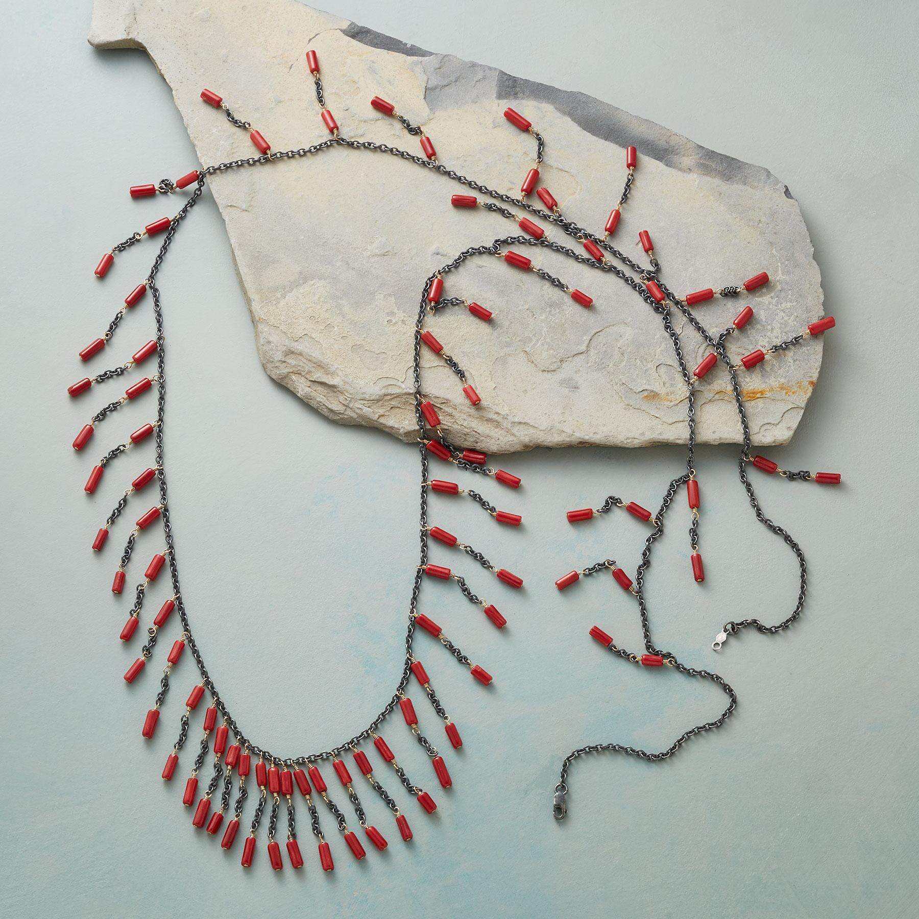 CORAL ARRAY NECKLACE: View 2