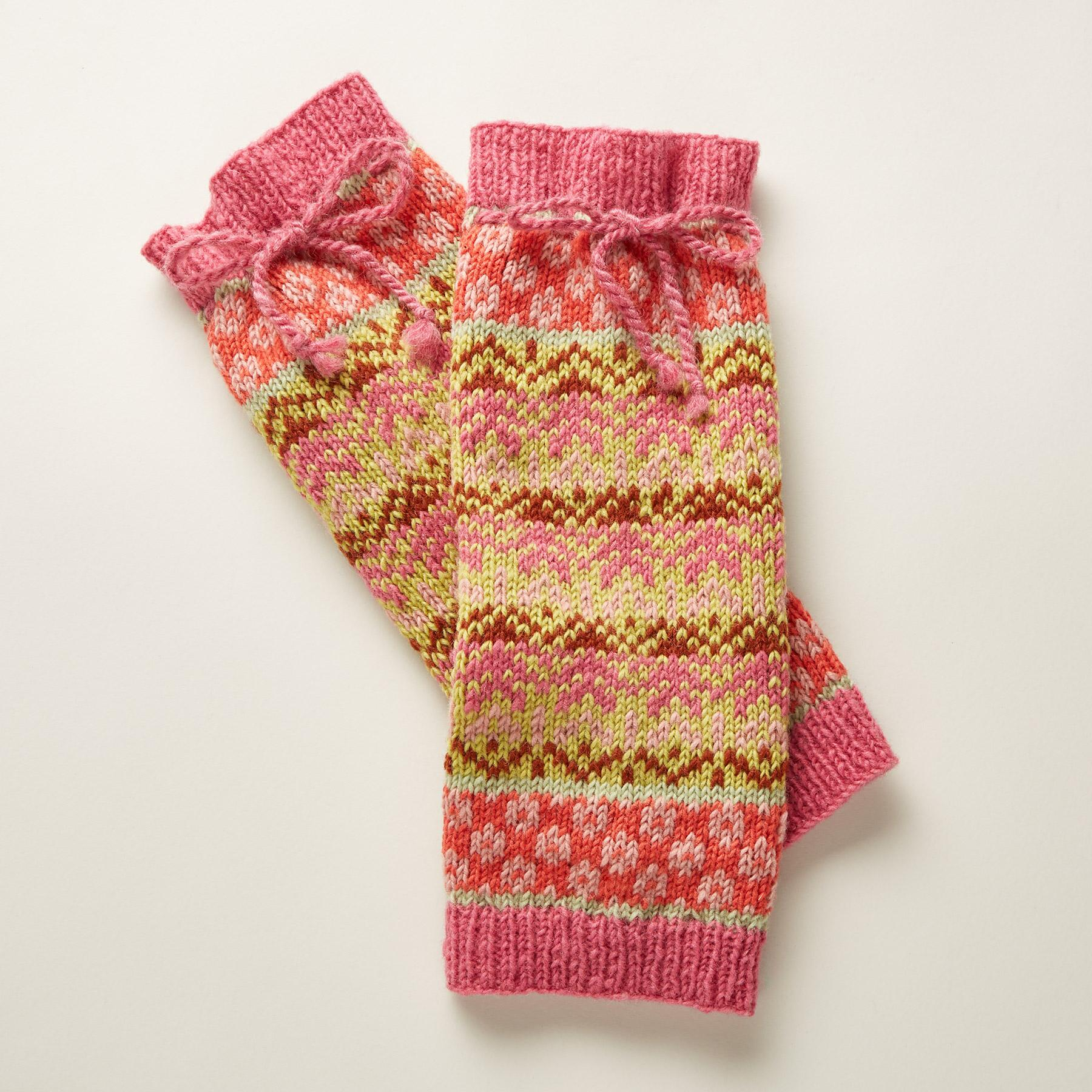 FLAME & FROST LEGWARMERS: View 1