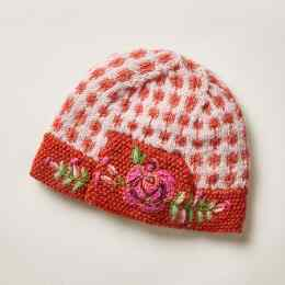 HEIRLOOM ROSES HAT