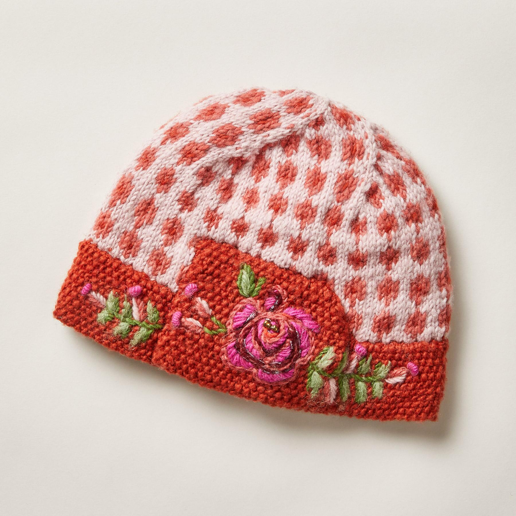 HEIRLOOM ROSES HAT: View 1