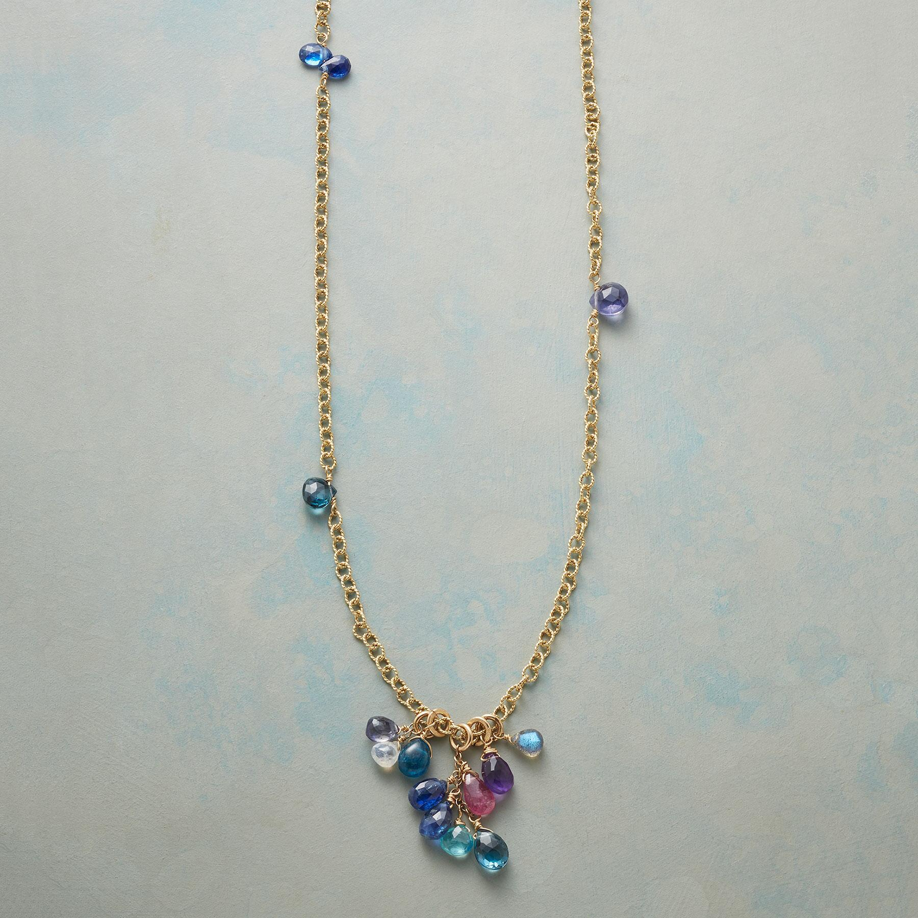 BLUE WAVELENGTH NECKLACE: View 1