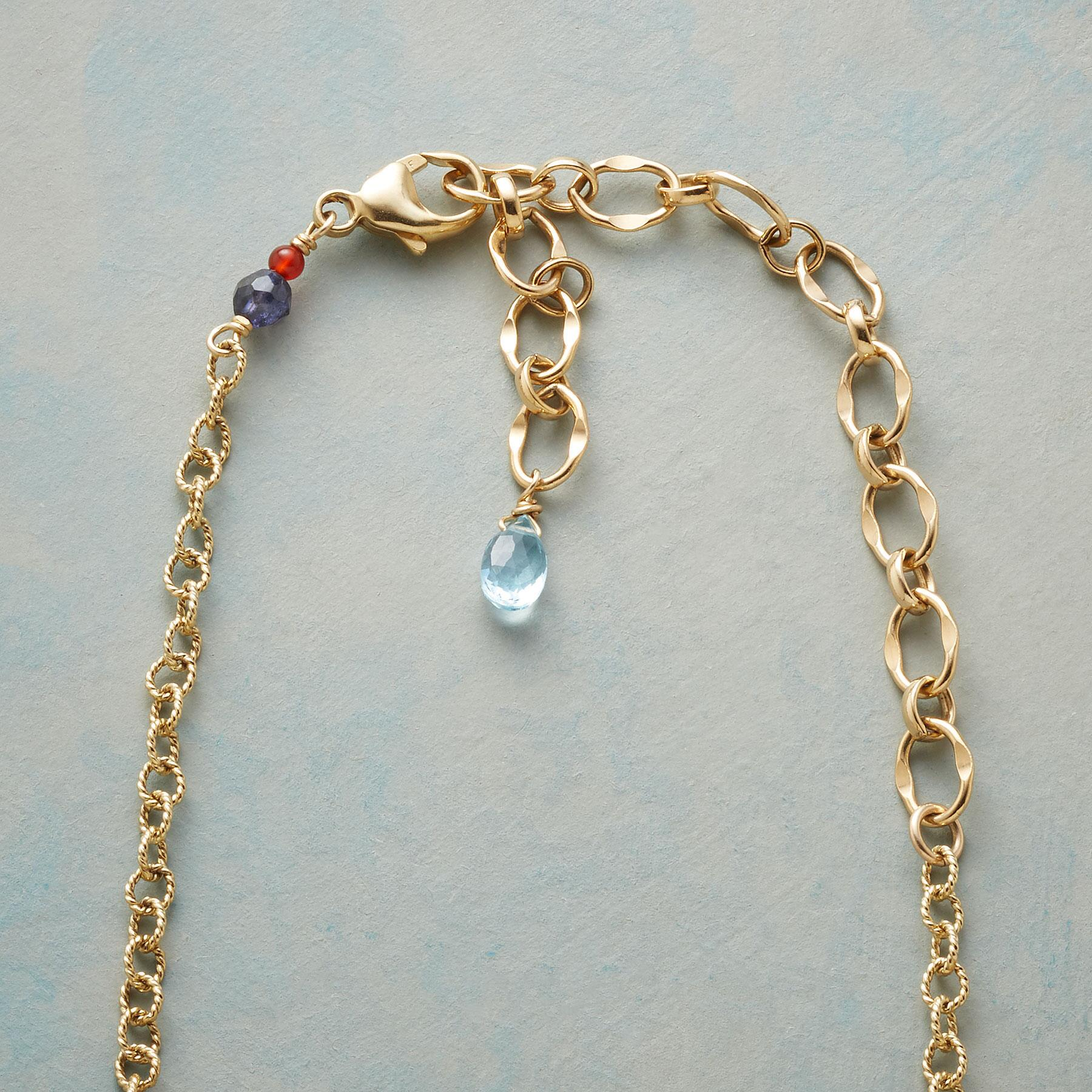 BLUE WAVELENGTH NECKLACE: View 3
