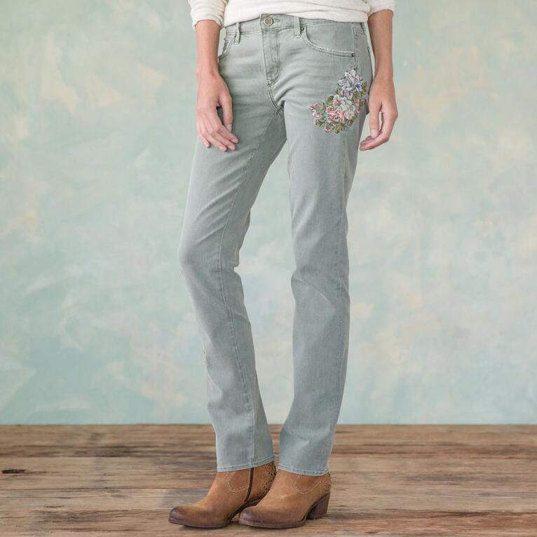 AUDREY APPLE BLOSSOM JEANS