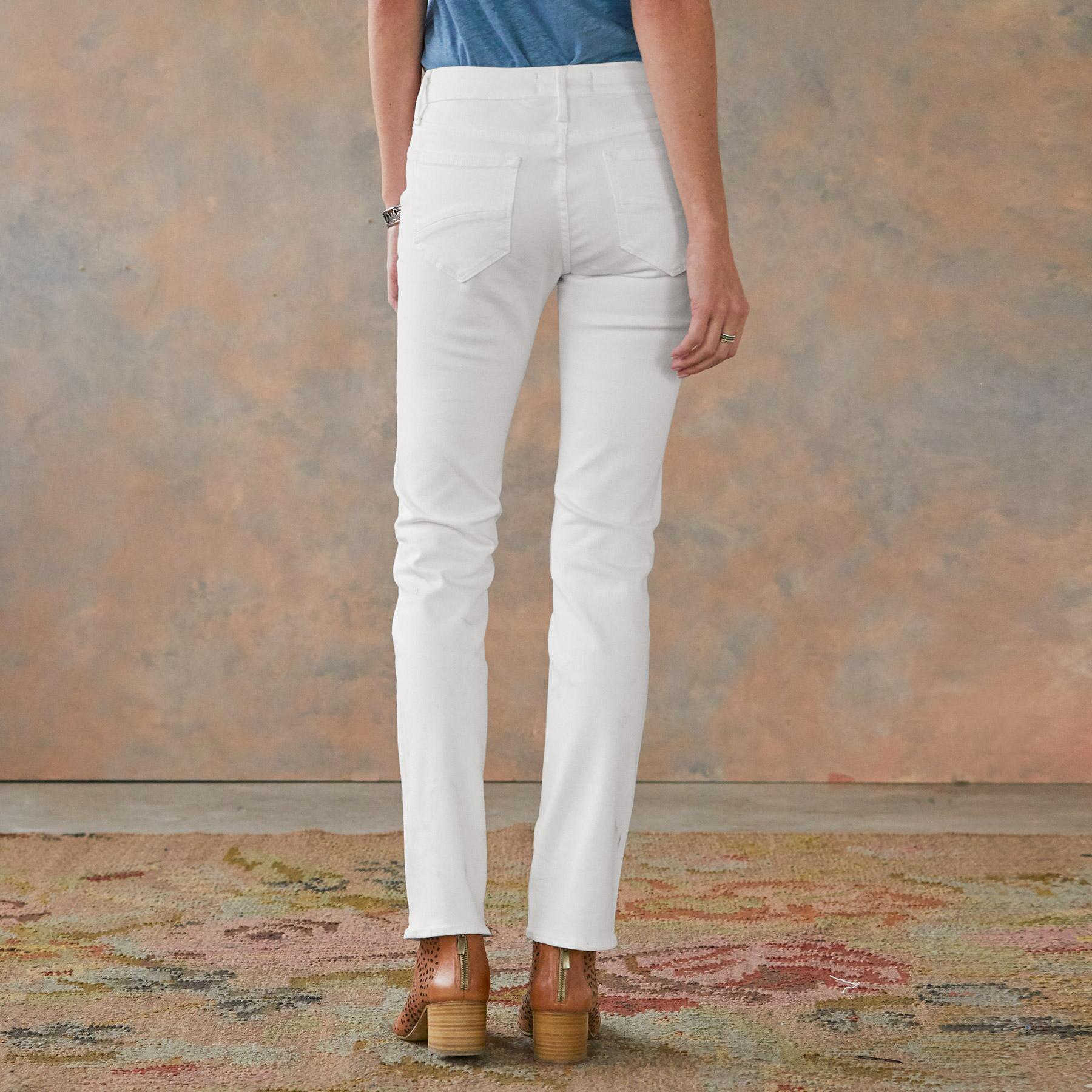 AUDREY STRAIGHT JEANS: View 2