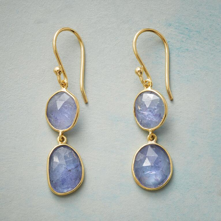 TANZANITE TWOSOME EARRINGS