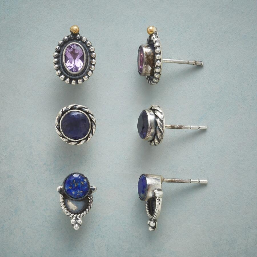 COOL SPECTRA EARRING TRIO