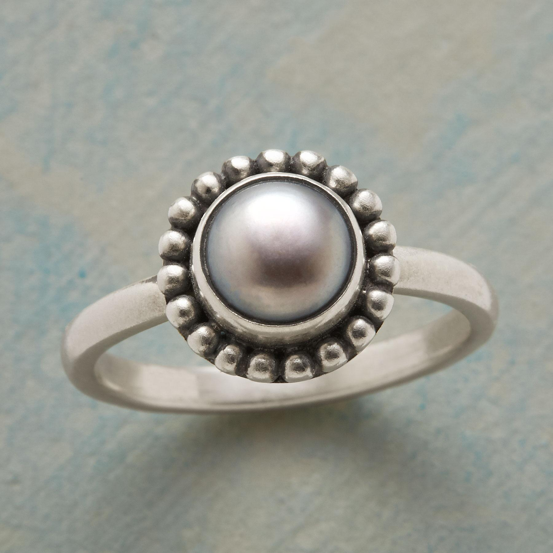 SILVER DOLLAR RING: View 1