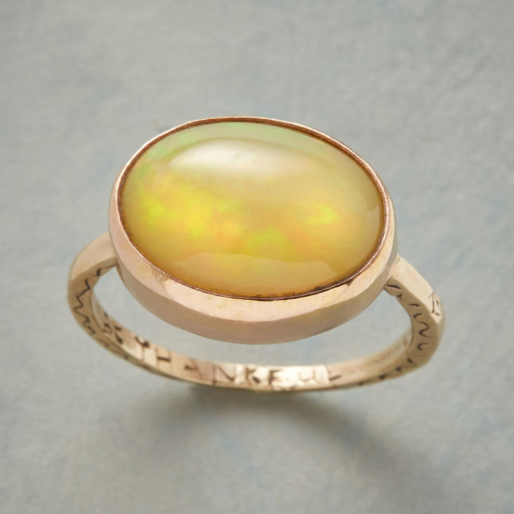 SALUTATION OPAL RING: View 1