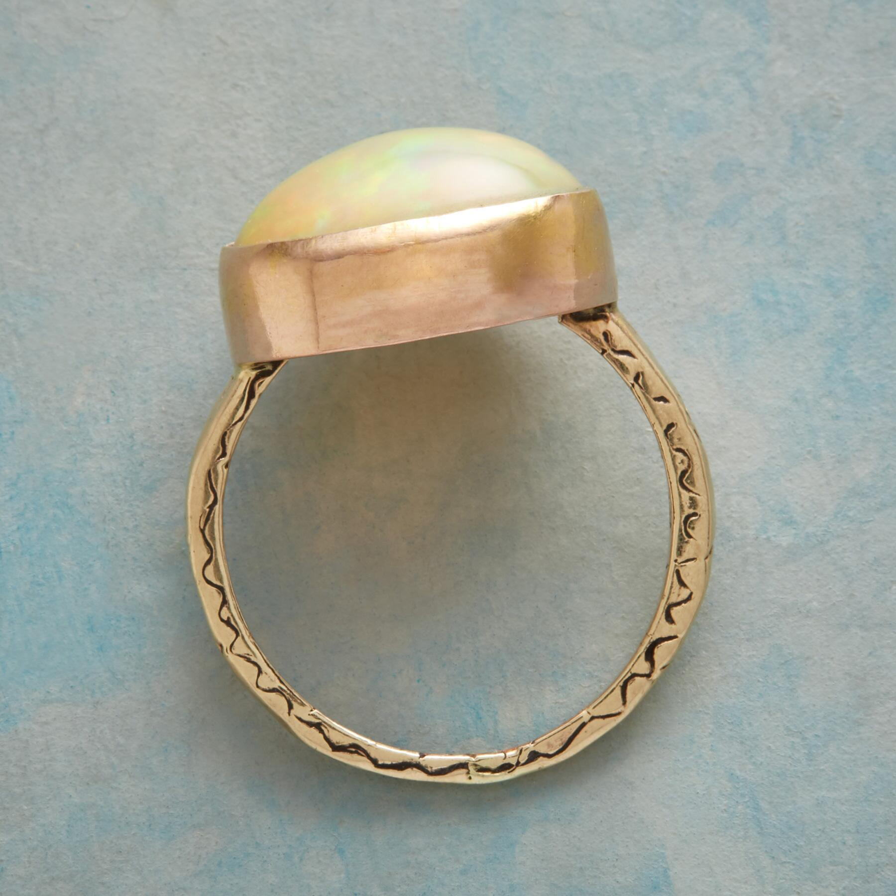 SALUTATION OPAL RING: View 2