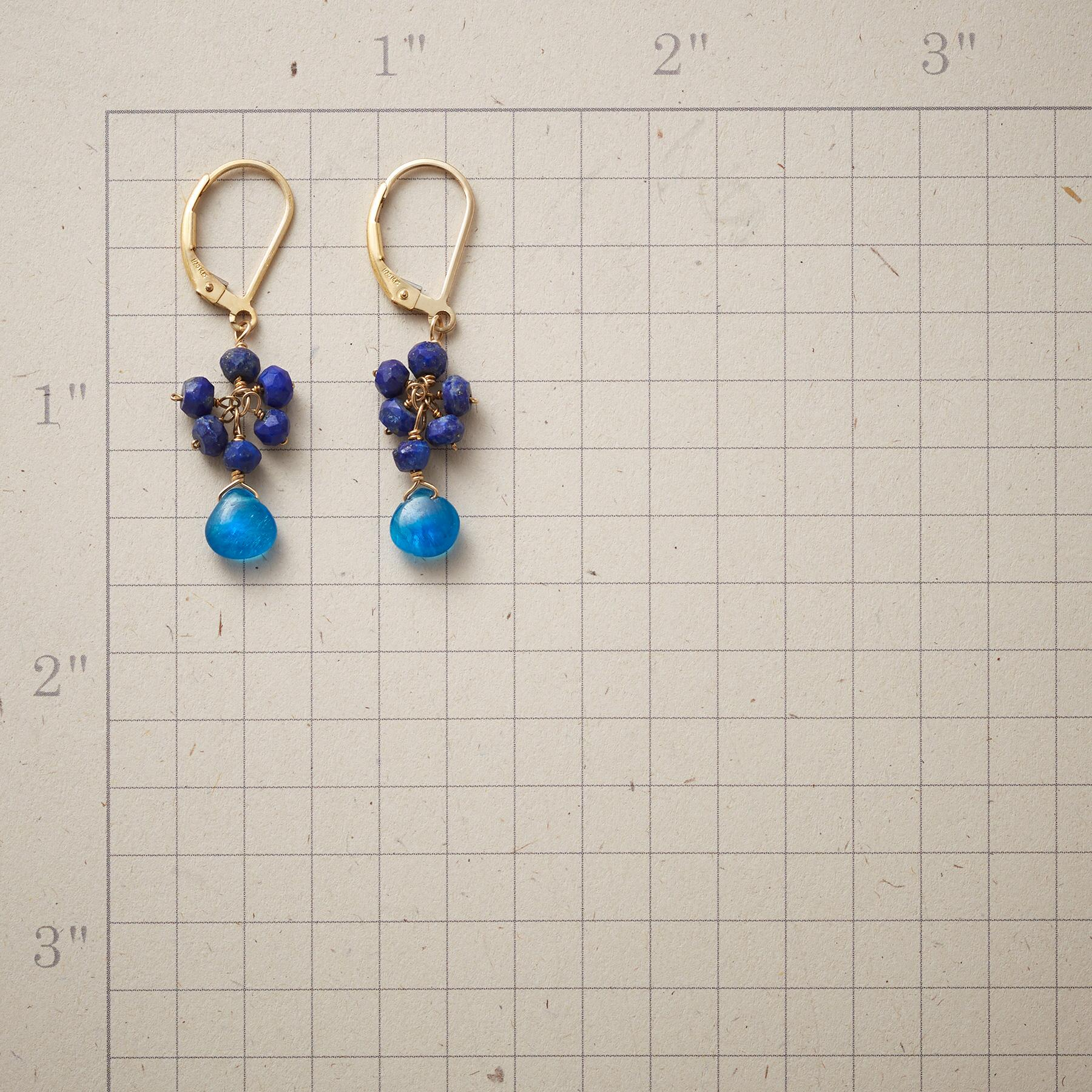 FEELIN' BLUESY EARRINGS: View 2