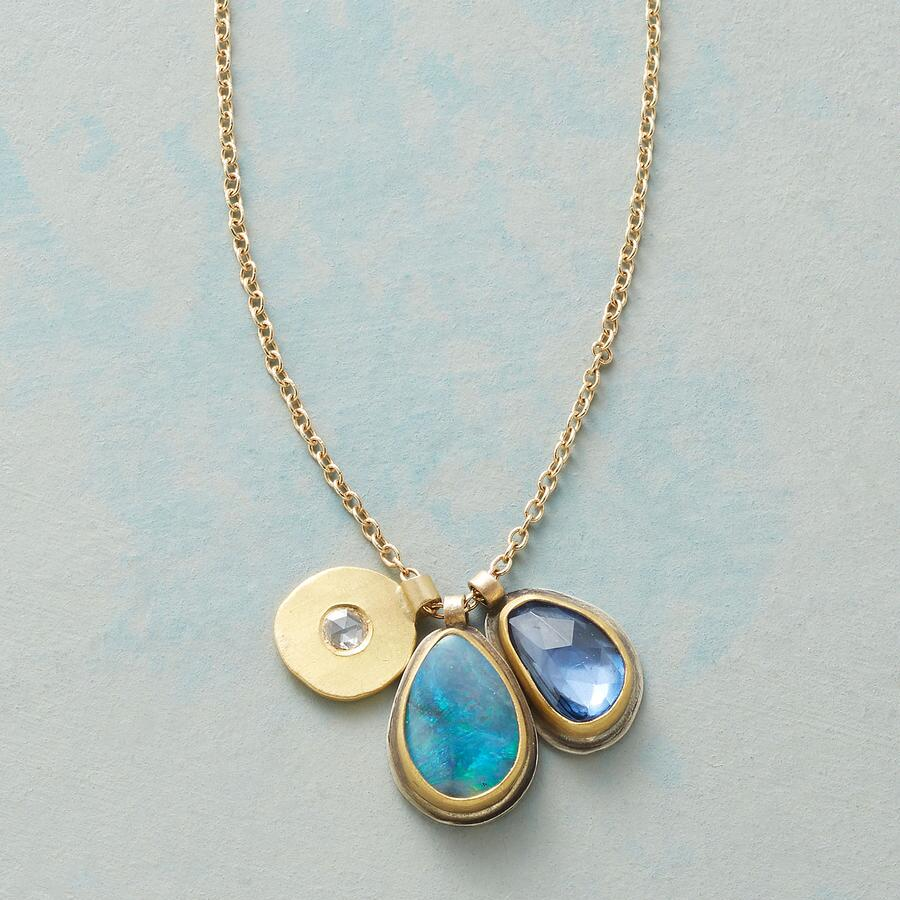 ALONG WITH OPAL NECKLACE
