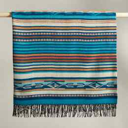 PENDLETON CHIMAYO TURQUOISE THROW