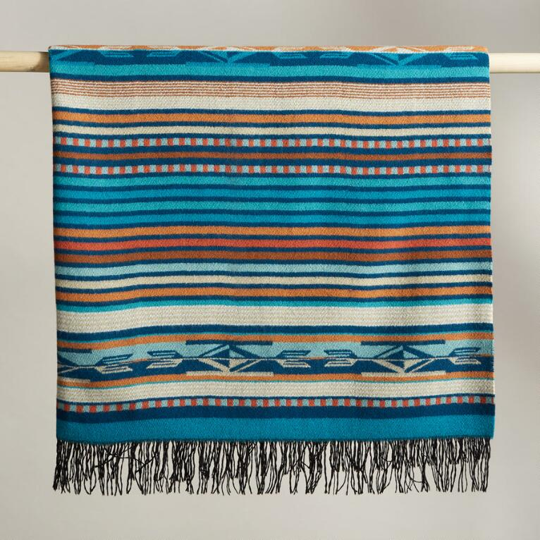 PENDLETON® CHIMAYO TURQUOISE THROW