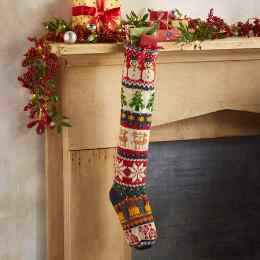 HEIRLOOM HOLIDAY MIX STOCKING