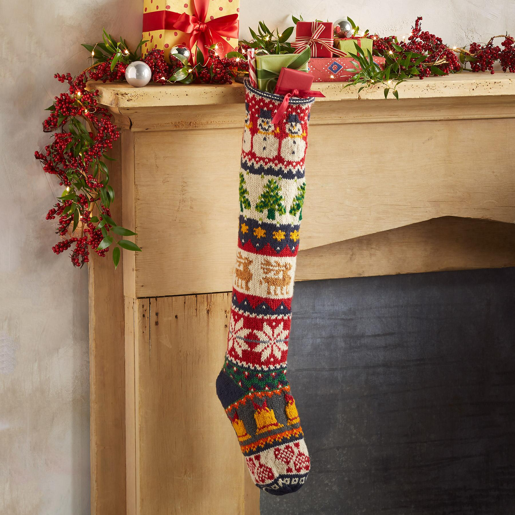 HEIRLOOM HOLIDAY MIX STOCKING: View 1