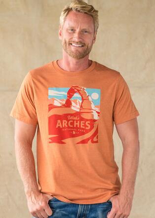 UTAH ARCHES TEE