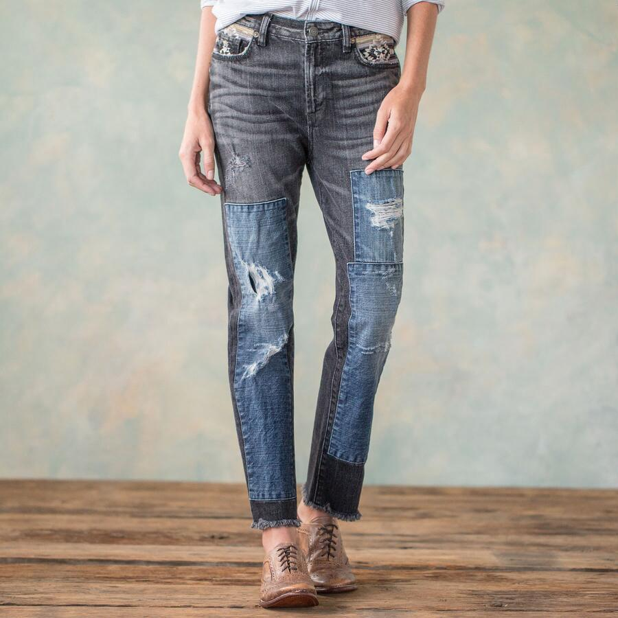EMBROIDERY MEMORIES JEANS