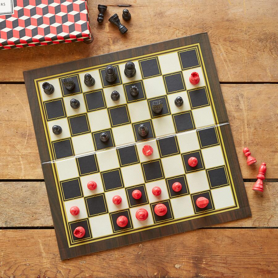 GAME ROOM...CHESS & CHECKERS