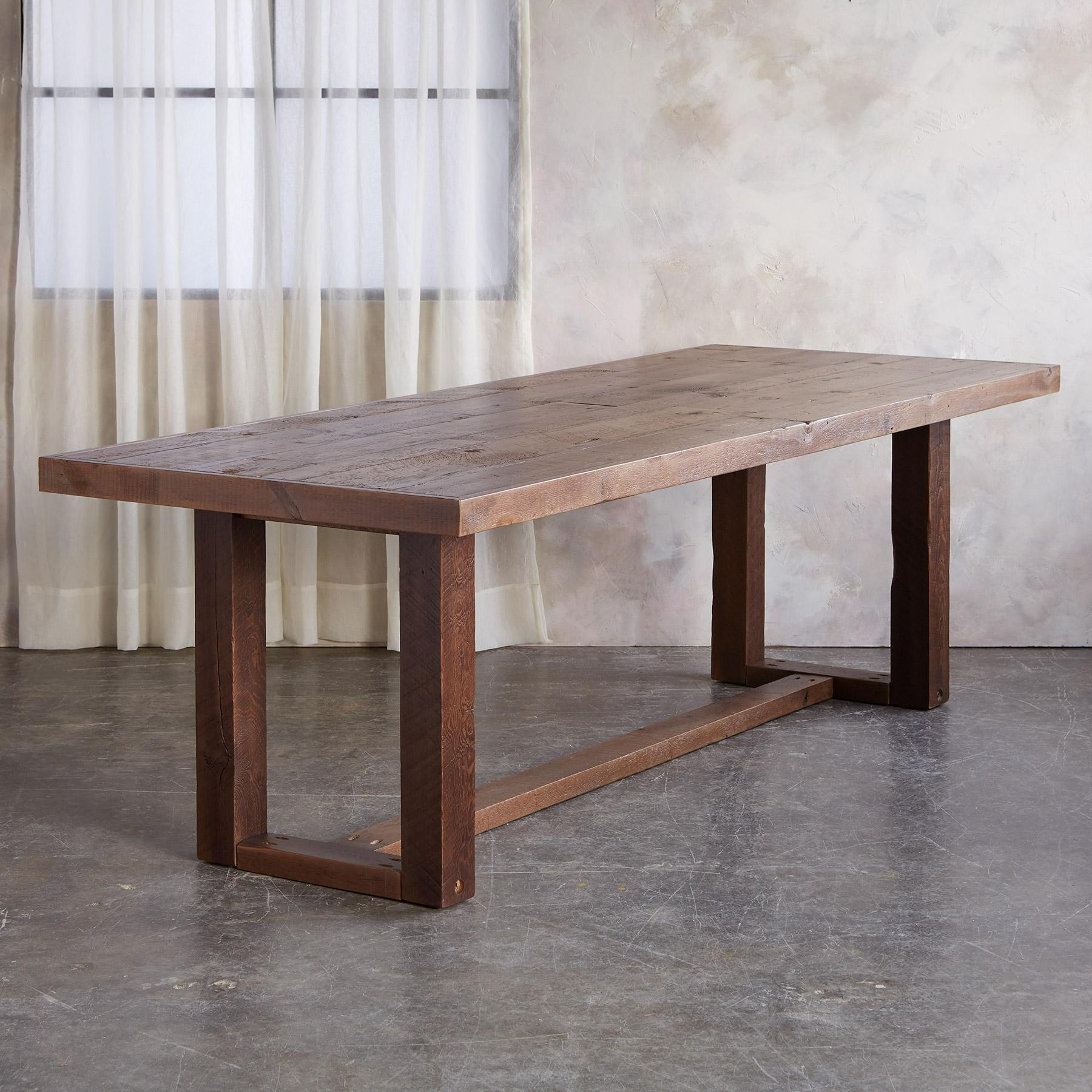 BARNSTEAD DINING TABLE: View 2