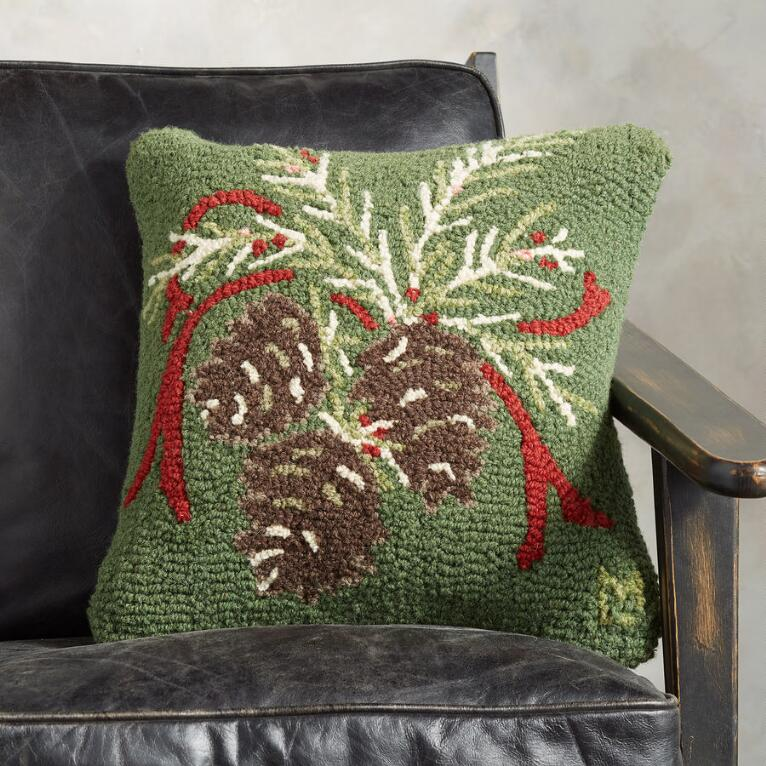 PINECONES PILLOW