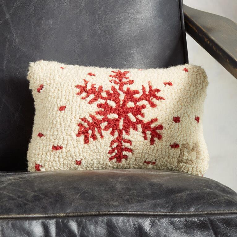 SNOWFALL MINI PILLOW