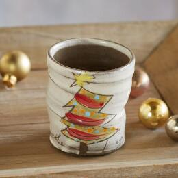 SENTIMENT CHRISTMAS TREE CUP