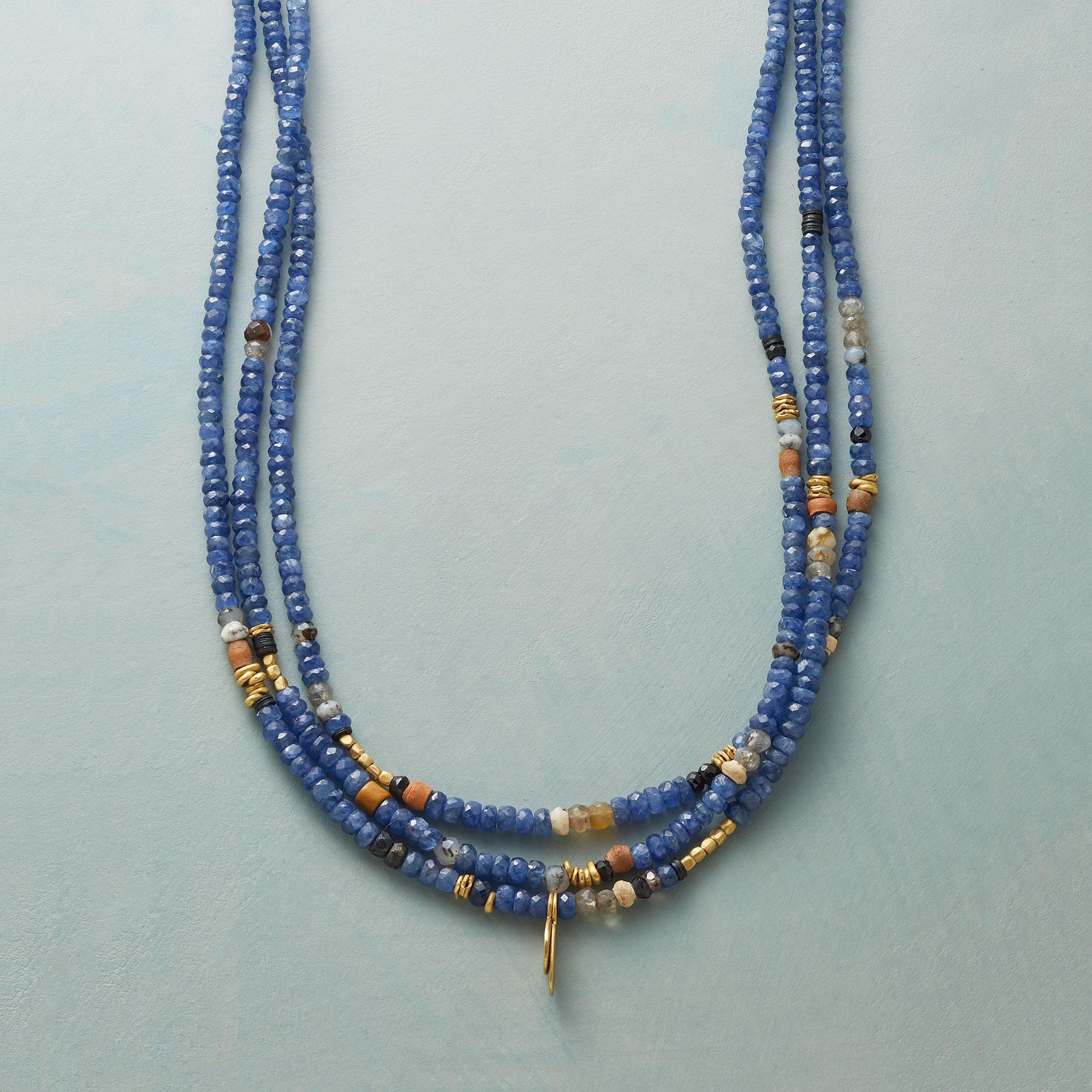 NO THREE STRANDS ALIKE NECKLACE: View 1