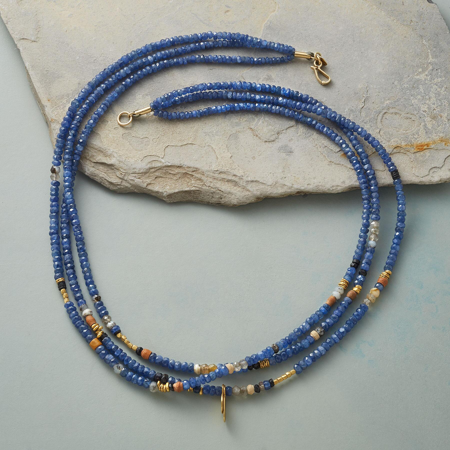NO THREE STRANDS ALIKE NECKLACE: View 2
