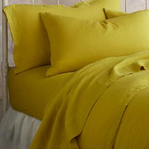 SANCTUARY LINEN FITTED SHEET