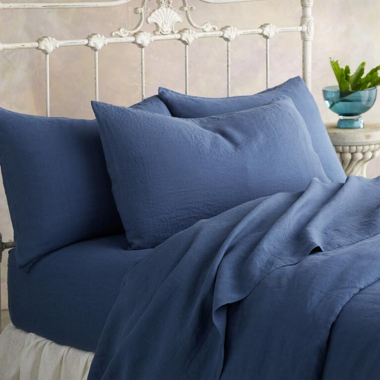 SANCTUARY LINEN PILLOWCASE
