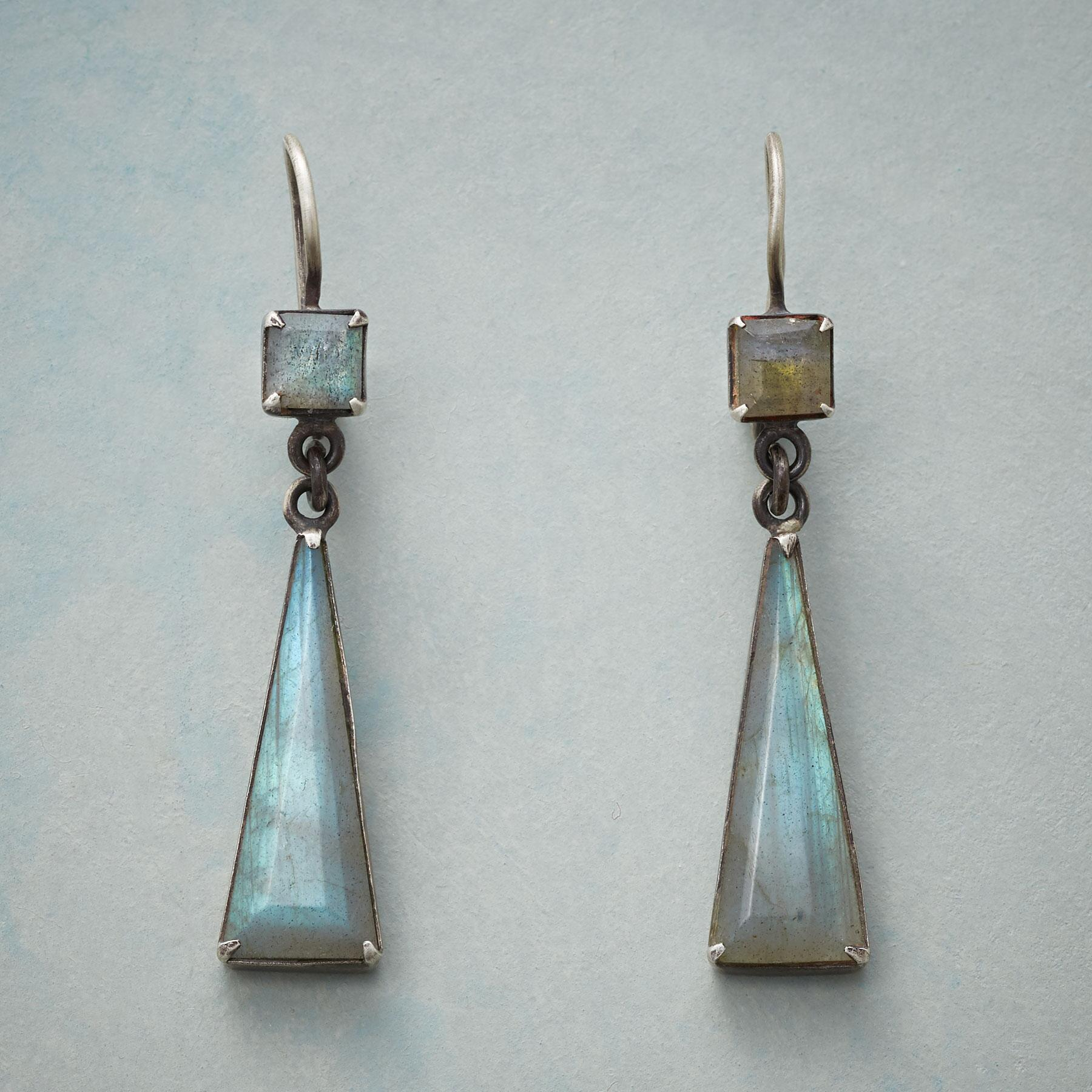 LONGING FOR LABRADORITE EARRINGS: View 1