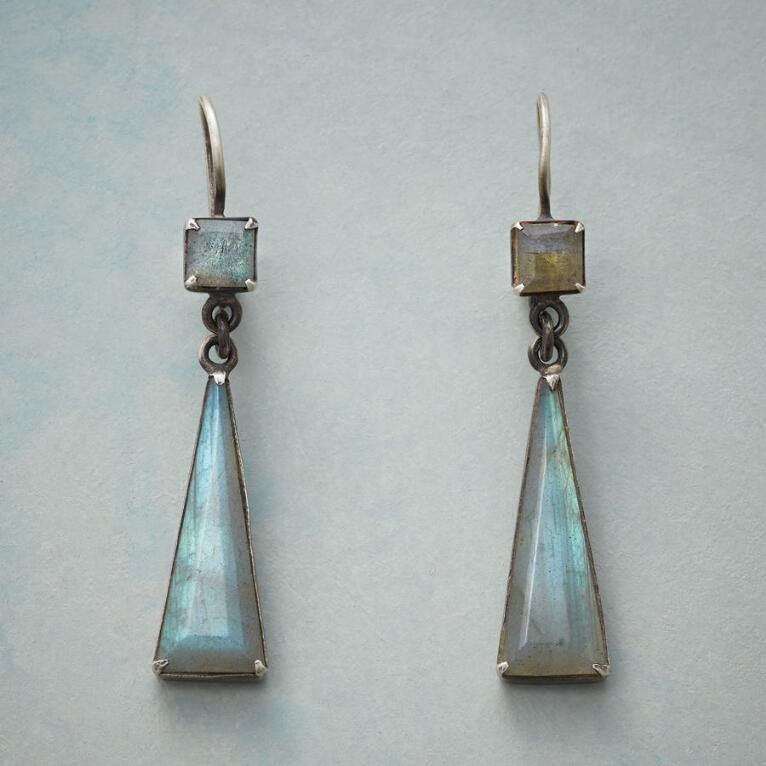 LONGING FOR LABRADORITE EARRINGS
