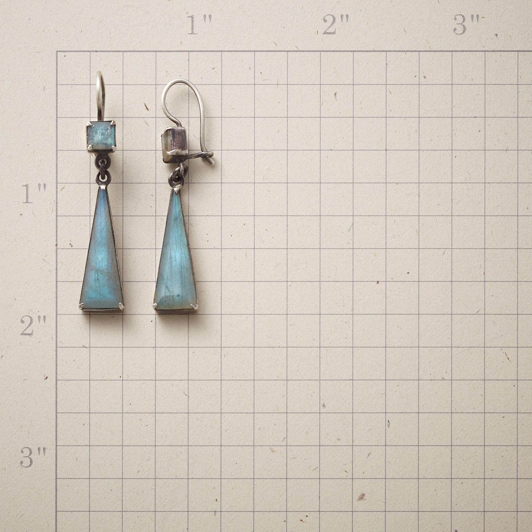 LONGING FOR LABRADORITE EARRINGS: View 2