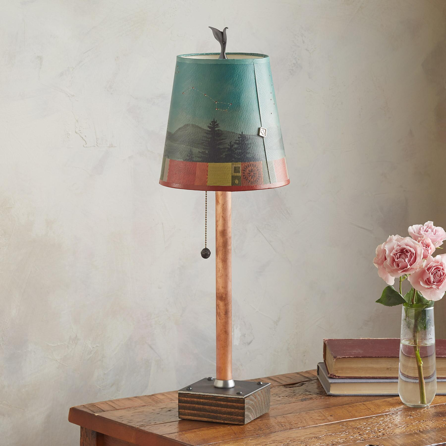 MIDNIGHT CONSTELLATIONS PETITE TABLE LAMP: View 1