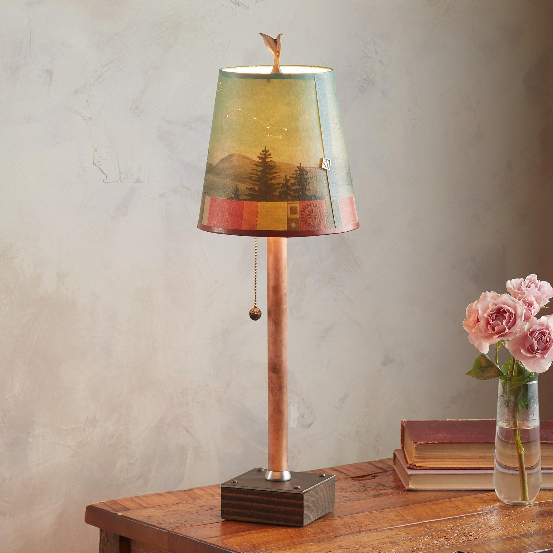 MIDNIGHT CONSTELLATIONS PETITE TABLE LAMP: View 2