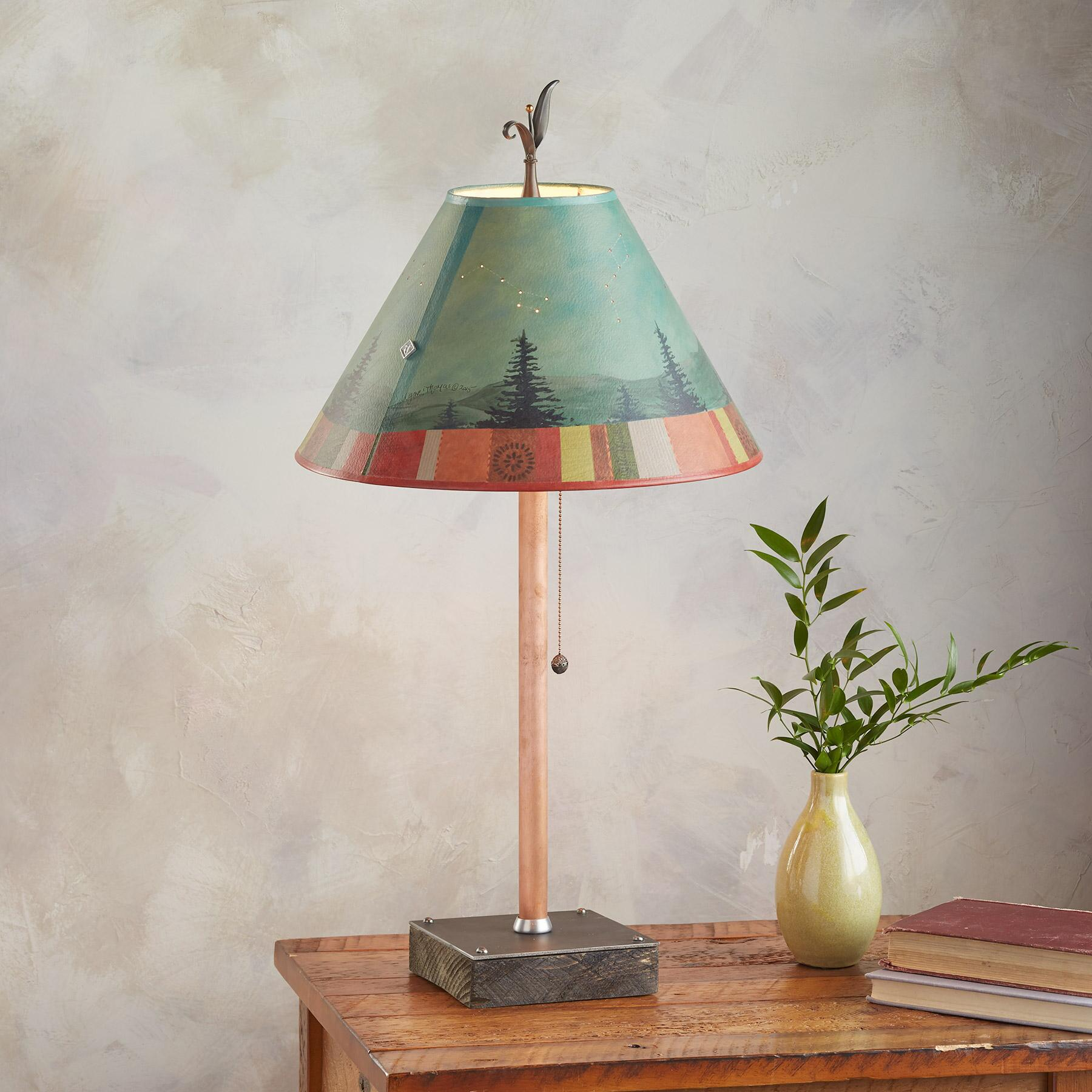 MIDNIGHT CONSTELLATIONS TABLE LAMP: View 2