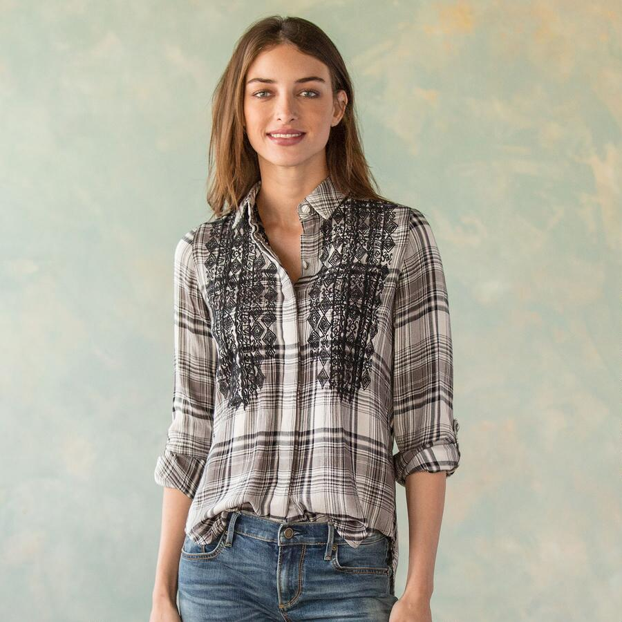 JUBILEE PLAID SHIRT