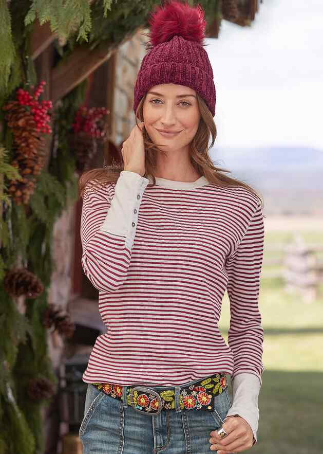 ELEMENTAL STRIPED TOP