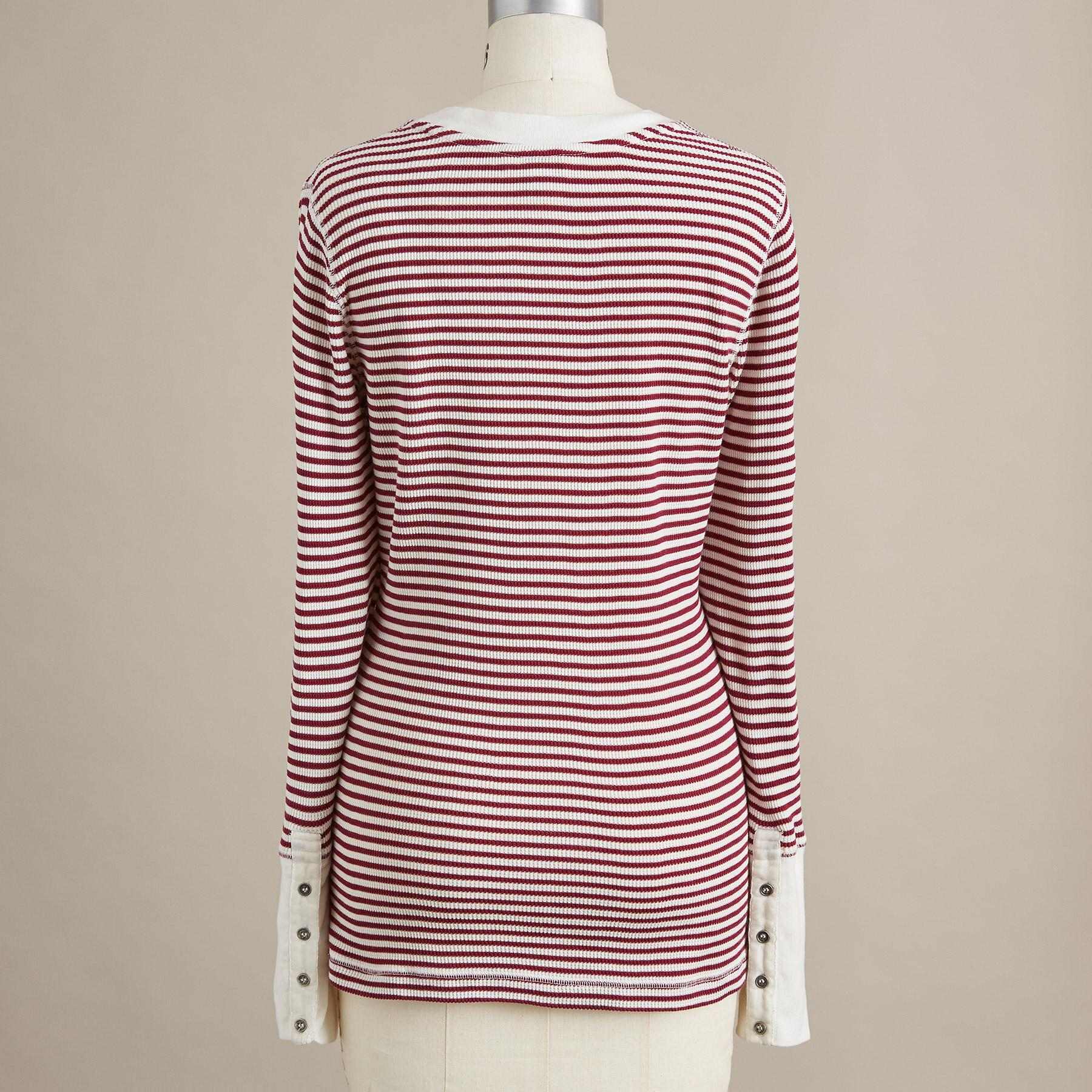 ELEMENTAL STRIPED TOP - PETITES: View 2
