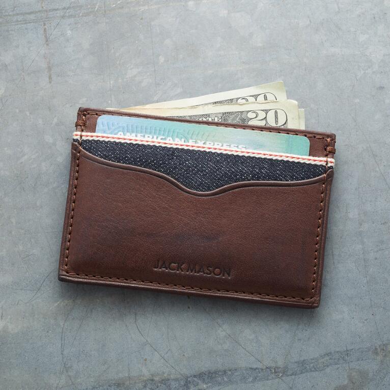 LONGHORN CARD CASE