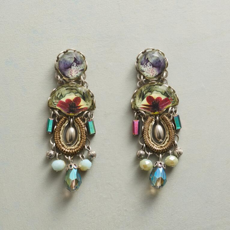 ROSLYN CRYSTAL EARRINGS