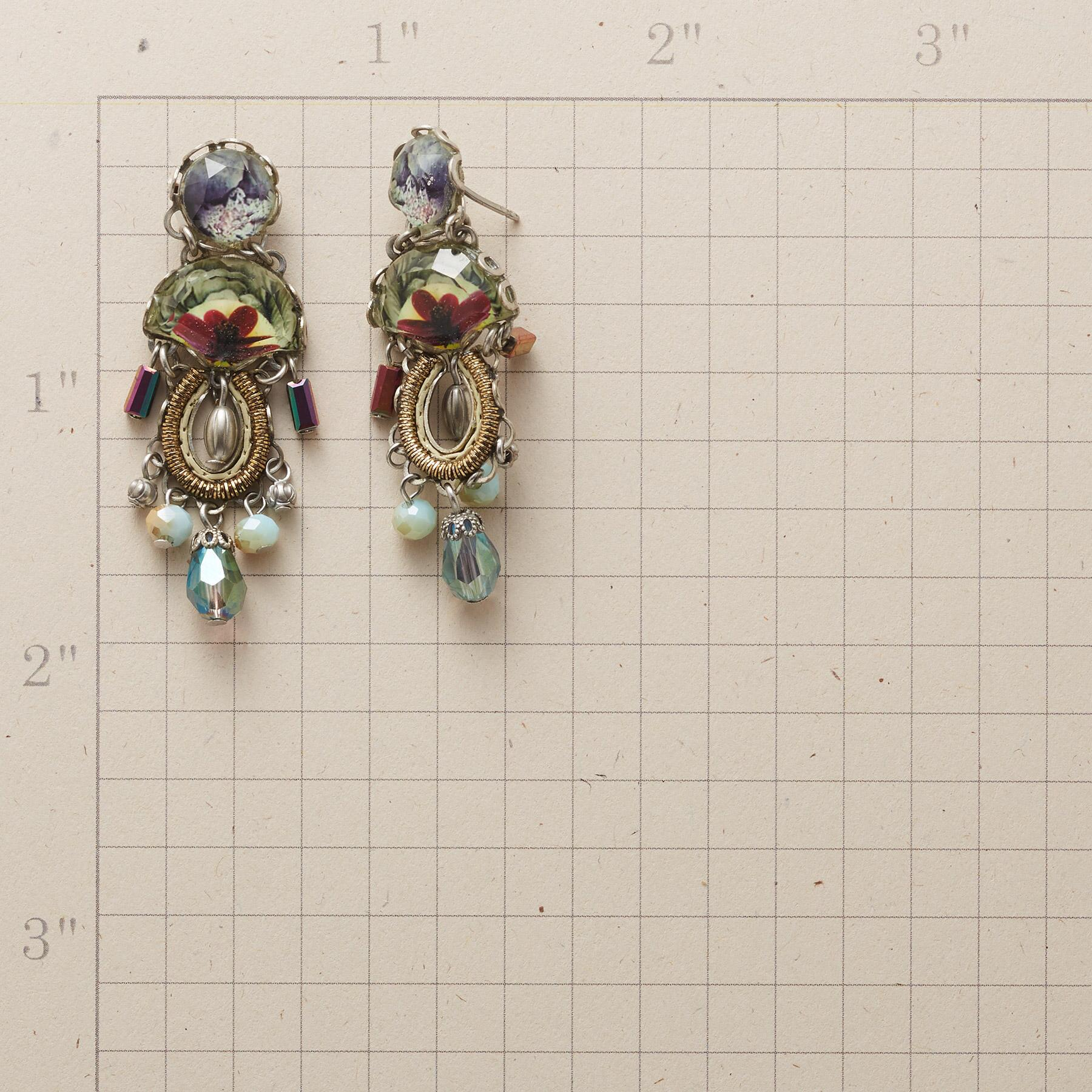 ROSLYN CRYSTAL EARRINGS: View 2