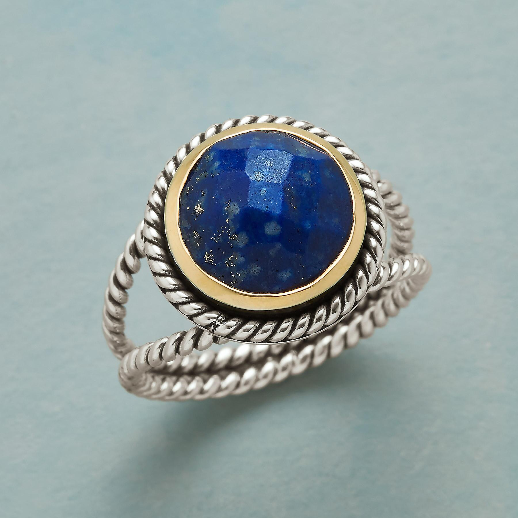 LAPIS LARIAT RING: View 1