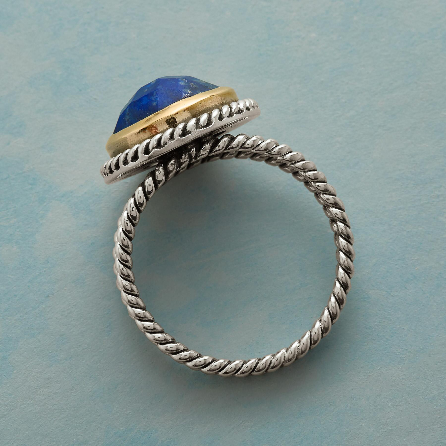 LAPIS LARIAT RING: View 2