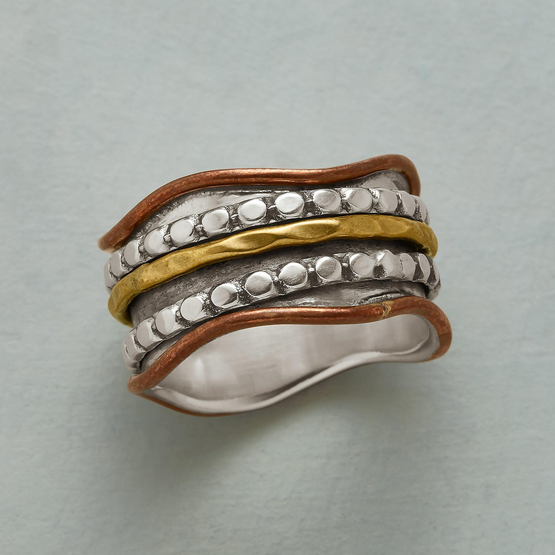 WAVES OF BRASS RING: View 1