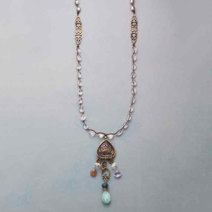 TEMPLE TREASURES NECKLACE